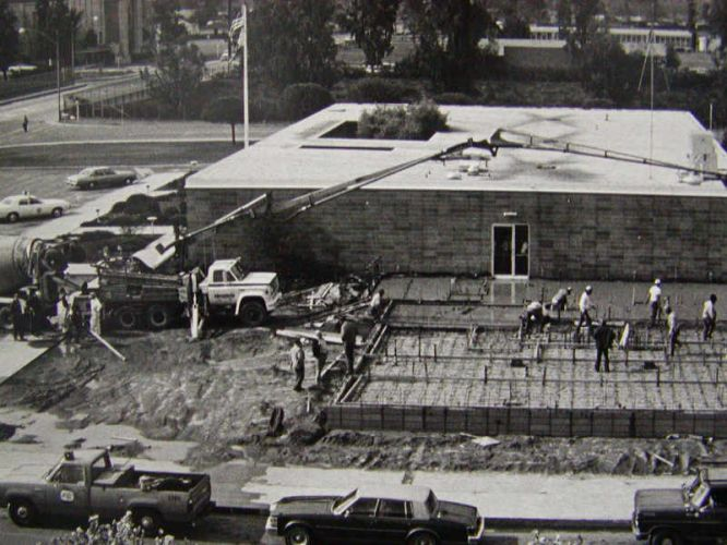 Construction of Headquarters at 203 W. 4th Street  1978