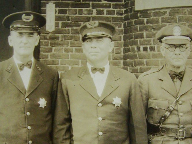 Madera Police Department Photo taken in 1931
