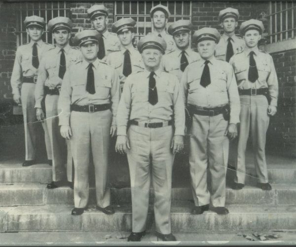 Madera Police Department Photo taken in the 1940's