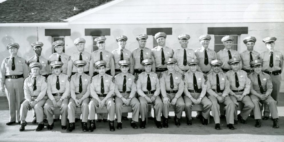 Madera Police Department 1958